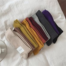 Black Market 實拍凹型好搭配的純色堆堆襪!多色入 男女都好穿的短襪子(預購)