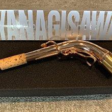 §唐川音樂§ 【Yanagisawa Neck AW1-PGP 中音脖管 黃銅鍍玫瑰金 】日本製