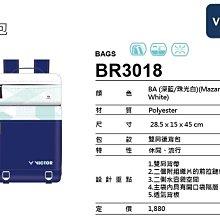 (台同運動活力館) VICTOR 勝利 【戴資穎】【Crown Collection】後背包 背包 BR3018BA