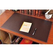 經典皮革大尺寸桌墊-黑/咖 台灣出貨 開立發票 高級皮質辦公桌墊 寫字桌墊 工作墊 書桌墊 電腦桌墊-輕居家2106