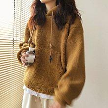 NANA'S【O1257】絨絨的暖意~chic韓國可愛+溫暖up顆粒絨加厚加暖上衣 現貨