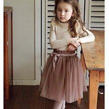 ✽秋裝新品✽韓版中大童女童蕾絲繫帶花邊軟紗裙褲