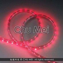 220V-紅光LED二線3528水管燈50米 - 燈條 非霓虹 彩虹管 聖誕燈 水管燈 led 條燈 軟燈條 燈飾