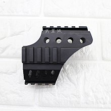 台南 武星級 iGUN MP5 鎮暴槍 專用 魚骨 ( 鏡橋 魚骨 夾具 短槍 狙擊鏡 內紅點 紅外線 紅雷射 快瞄