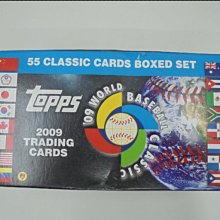 2009 Topps WBC 世界棒球經典賽 球員卡 整套 55張  中華隊 CT