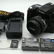 *中階單眼* Nikon D90 + 50mm F1.4D 定焦鏡頭  - 公司貨 - 快門數183xx