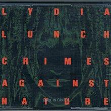 [鑫隆音樂] 西洋CD-CRIMES AGAINST NATURE / LYDIA LUNCH {3CD}/全新