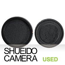 集英堂写真機【全國免運】中古良品 / PENTAX 67 6X7 原廠 相機機身蓋 + 鏡頭後蓋 保護蓋 21062