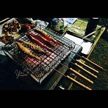 食品級不鏽鋼防燙烤肉叉3支入台灣製作(45cm)