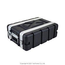 RW03S(短款) 3U ABS瑞克箱 二開輕便型機櫃/手提航空箱/總深36cm/機箱/堅固耐用/防水防潮 悅適影音