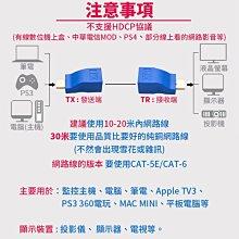 【傻瓜批發】(CD-7)HDMI轉RJ45延長器轉接頭-單網線30米/單網路線訊號延長器-4K1080P無損信號 板橋現