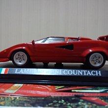 *內壺春角落光陰* 二十世紀經典名車周刊 No 02 Lamborghini Countach 1/43 模型車