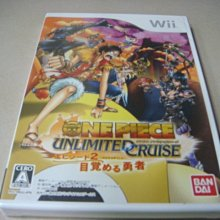 遊戲殿堂~Wii 『航海王 無限巡航 第2章 覺醒的勇者』日初版全新品