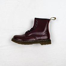 Dr. Martens 1460 8孔 櫻桃紅 酒紅 硬皮 短筒 經典款 馬汀靴 男女鞋