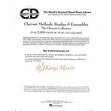 Kaiyi Music ♫Kaiyi Music♫Sheet music clarinet methods,studies&ensembles