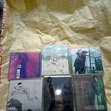 早期知名影視歌星張學友,任賢齊,張惠妹的CD6片一組,非常希少