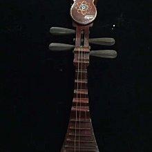 【姥姥私藏】清~手工製作 吊掛式琵琶月琴 樂器