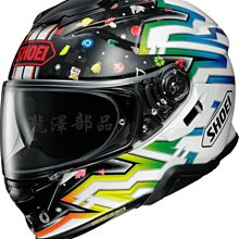 瀧澤部品 日本 SHOEI GT-AIR II 2 全罩安全帽 TC-1 LUCKY CHARMS 彩繪 加長內墨片