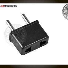 小齊的家 出國 4.0mm 歐規轉接頭 台灣 美規轉歐規 電源 轉接 插座 插頭 無變壓功能