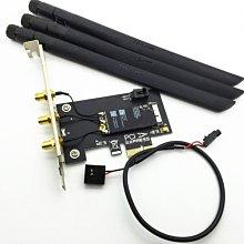 黑蘋果BCM94360CSAX 1750M AC 無線網卡+藍牙4.0 PCI-E介面 免驅 附3天線 NT$1600