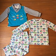 二手SNOOPY童裝 厚棉襯衫針織衫 三件$239運60 110cm