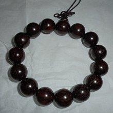 小葉紫檀手珠 15顆佛珠 約16mm 加贈隨機手珠盒