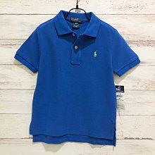 Maple麋鹿小舖 美國購買 童裝品牌POLO RALPH LAUREN 男童素面短袖POLO衫 * ( 現貨3號 )