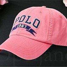 Polo Ralph Lauren Hat 刺繡字 粉紅色棒球帽 運動防曬遮陽 休閒鴨舌帽 高爾夫球帽 愛Coach包包