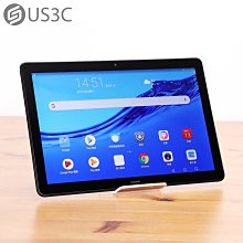 【US3C-板橋店】公司貨 HUAWEI MediaPad T5 10.1吋 3G/32G WiFi 黑色 500萬畫素  二手平板 支援記憶卡擴充