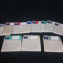 懷舊 復古 早期 5.25吋 11片 FUJI FILM 空白片 合標 大型磁片 MD 軟碟 可參考