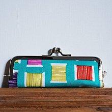《 REAL STANDARD 》日本愛知県 縫紉線 插圖 珠釦 口金 印章袋 印鑑袋 日本製 MH
