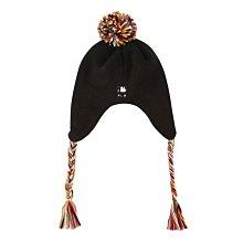 現貨特價【韓Lin連線代購】韓國 MLB -- New York鬥牛犬黑色毛線帽 32CPBU841