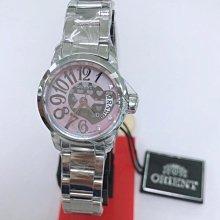 可議價 ORIENT東方錶 女 時尚甜心粉紅 石英腕錶 (W10031SZ)