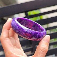 嗨,寶貝銀飾珠寶* 寶石飾品☆保證A貨 調整血壓 治療躁鬱症憂鬱症 純天然紫龍晶寶石寬版手鐲 手環