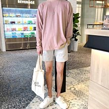 下殺199元。SW。【K11750】正韓 韓國製 彈性棉質 開岔前短後長  8色長袖大學T 歐美衛衣GD