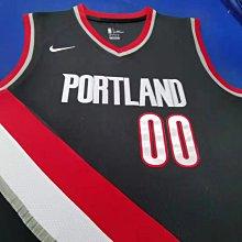 卡梅羅·安東尼(Carmelo Anthony)NBA波特蘭拓荒者隊 球衣 00號 黑色