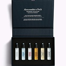 【Abercrombie&Fitch】【A&F】AF男款試管香水《六入組》2.5mL*6 F03210430-04