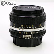 【US3C-高雄店】尼康 Nikon  AI-S NIKKOR 50mm F1.4 單眼鏡頭 二手鏡頭