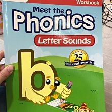 全新 meet the phonics letter sounds 小朋友 英文學習書 EEE