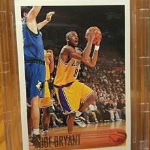 保證正品kobe 1996-97 科比洛杉磯湖人隊簽名球卡