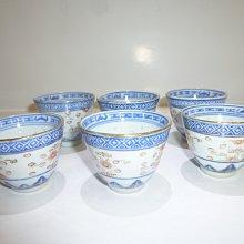 茶壺.紫砂壺.朱泥壺.手拉坯壺/早期景德鎮製無款透光米粒杯6個一組