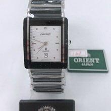 可議價 ORIENT東方錶 女 白陶瓷白面 石英腕錶 (HM5SC13S) 23mm