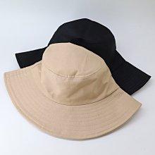 OT SHOP [現貨] 帽子 漁夫帽 遮陽帽 盆帽 中性男女 簡約素色 帽圍可調 文青配件 黑/卡其/藏青 C2146