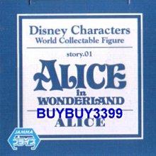 日版 迪士尼 Disney WCF story.01 單售 愛麗絲 Alice 愛麗絲夢遊仙境 公仔