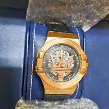 瑪莎拉蒂 MASERATI TIME 飆速駕馭自動機械腕錶/R8821108039