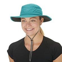 滿3000免運TheNorthFace雙和專賣店OR女抗UV中盤帽Solar Roller Sun Hat243442藍