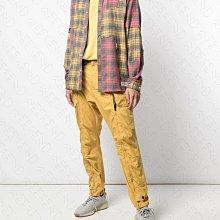 【WEEKEND】 MOSTLT HEARD RARELY SEEN MHRS 拼接 破壞效果 格紋 襯衫 紅黃