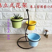 【園藝城堡】 站立式花架  桌上型園藝小花架 室內立體小花架 鐵架 陽台架