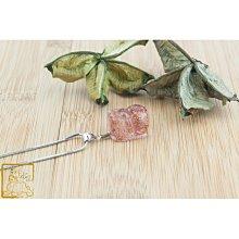 草莓晶貔貅墜 5.4g 增加魅力【吉祥水晶專賣店】編號AX59