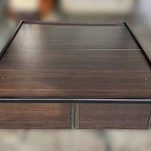 台中二手傢俱推薦 宏品全新中古家具 電器 B5095*胡桃5尺加高掀床*床頭櫃 梳妝台 鏡台 庫存臥室床組 沙發 餐桌